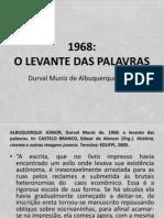 1968 - o Levante Das Palavras