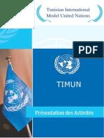 Activités TIMUN