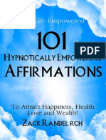 101 Hypnotically Empowering Affirmations eBook