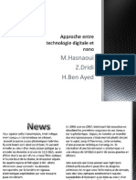 Approche Entre Technologie Digitale Et Nano