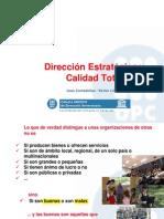 Direccion Estrategica y Calidad Total