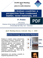 Physics in Andean Countries