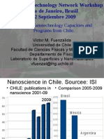 Report on Nanotechnology Capacities and Programs from Chile