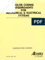 Color Coding for Mechanical and Electrical Systems