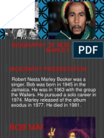 Biography of Bob Marley