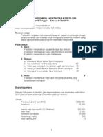 Diskel 6 (BLOK 5) - Fertilitas Mortalitas