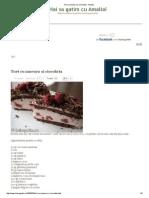 Tort Cu Zmeura Si Ciocolata - Amalia