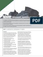 Hardgrove Grindability Index - HGI