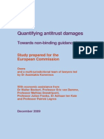 OXERA_Quantifying Antitrust Damages