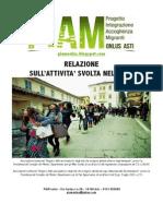 Relazione PIAM 2013
