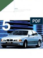 BMW E39 1998 Brochure
