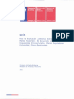 Guía  Para la Evaluación Ambiental Estratégica de los Planes Regi