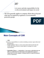 What is CSR