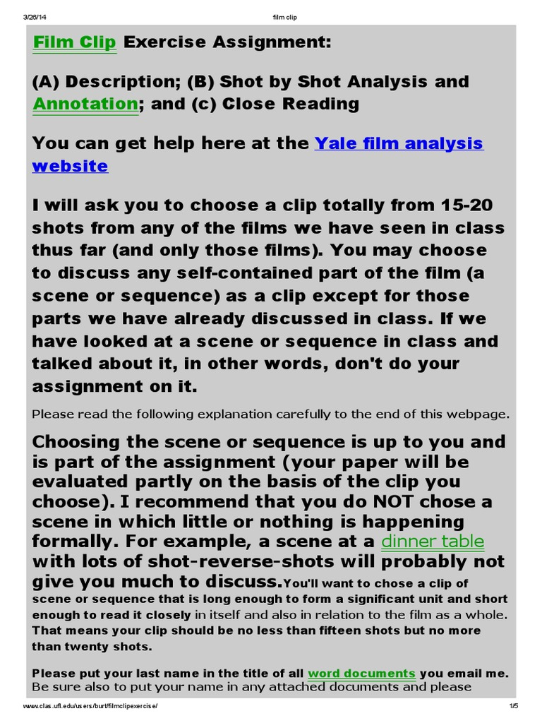 film analysis the help