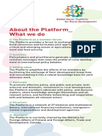2013 About the Platform__ What we do