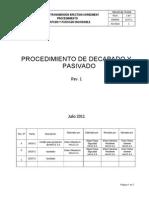 P869-000-ME-PR-0008 Procedimiento Decapado y Pasivado Inox Rev. 1