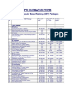 CBT Packages