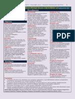 Quadro resumo e prático para a Classificação de Pesquisas científicas