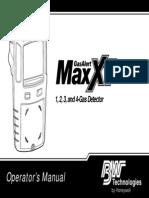 GasAlertMax XT OpsManual(D6171 0 en)