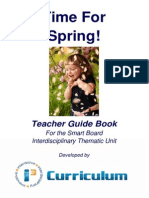 Time for Spring Guide Book