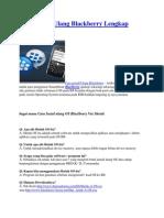 Cara Install Ulang Blackberry Lengkap Bergambar