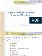 Filipino Heritage