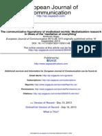 European Journal of Communication 2013 Hepp 615 29