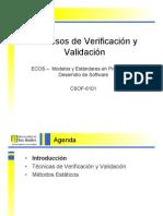 Procesos de Verificación y Validación