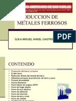 19457104 Produccion de Metales Ferrosos y Tipos de Hornos