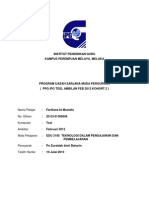Fardiana Bt Mustafa (1), RP Model Assure