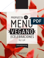 Menu Vegano Celebraciones 6 Defensanimal