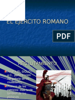 EL EJÉRCITO ROMANO.
