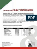 FICHA TÉCNICA JUNTA E&M 64.pdf