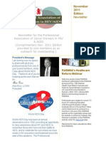paswha newsletter- november 2011
