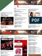 Agenda Cultural MAR Del 26 de Marzo Al 1 de Abril LPA