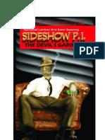 Sideshow P.I. the Devil's Garden Sample