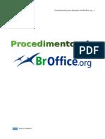 FORMAÇÃO - OFICE - manual completo de procedimentos broffice