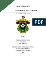 Laporan Praktikum Oh (Muhammad Reza Basri o 11111004)