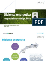 Prezentare Ionut Tata (Eficienta Energetica)  de la conferinta Pregatire 2014-2020. Studii de caz, Probleme, Solutii, Oportunitati