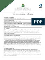 CP3 2014-1 Noite - Programa