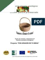 El Huerto Escolar Ecologic Dossier Profesorado General