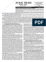 Zomi Times (15 March 2014)