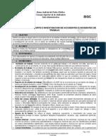 Procedimiento Reporte e Investigacion de Accidentes e Incidentes de Trabajo(1)