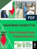 The Kalusha Bwalya Foundation Trust