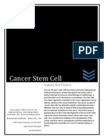 Cancer Stem Cell