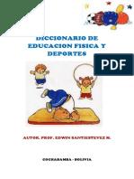 Caratula Diccionario de Educacion Fisica y Deportes