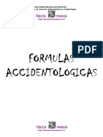 Formulas Accidentologicas