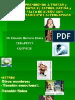 CSI Charla Nro 09 - Estres Fatiga Cronica y Falta de Sueno