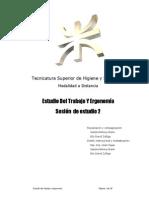 Estudio Del Trabajo y Ergonomia Sesion 2