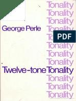 Twelve-Tone Tonality Escrito Por George Perle
